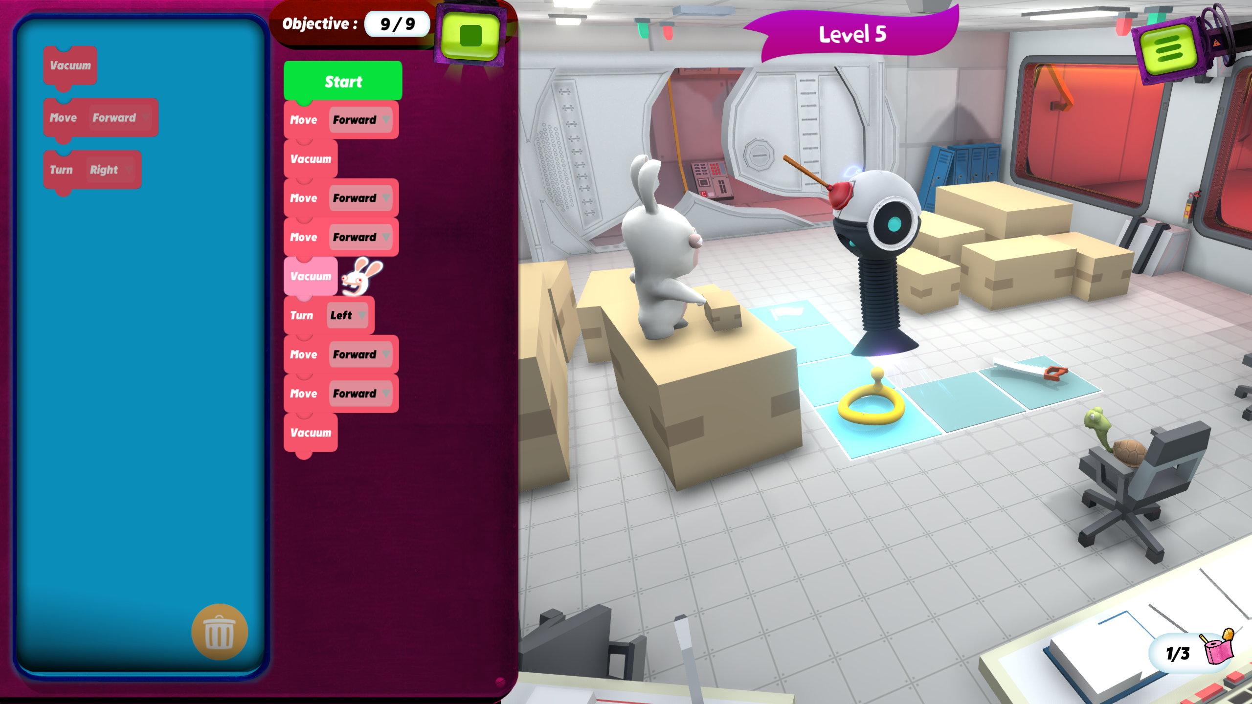 Game image Rabbids Coding