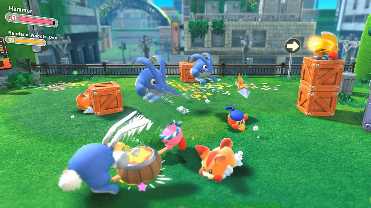 Game image Kirby and the Forgotten Land