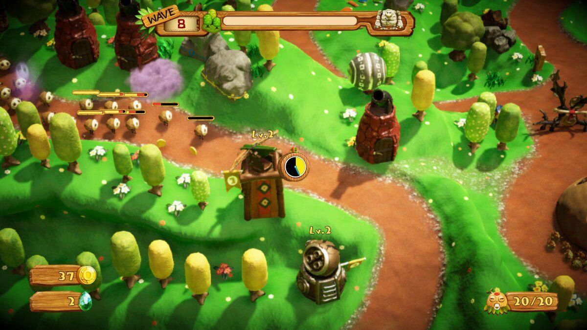 Game image PixelJunk Monsters