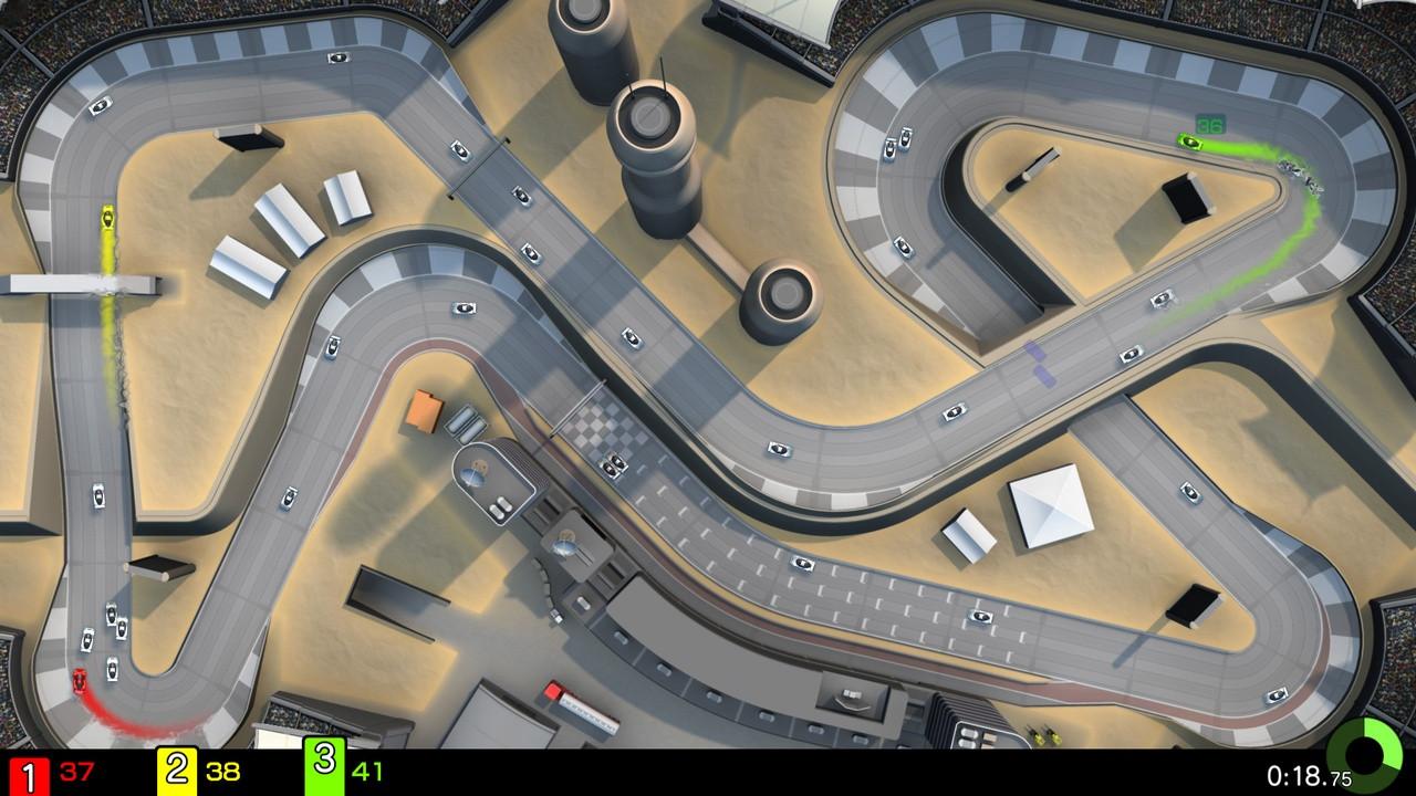 Game image PixelJunk Racers