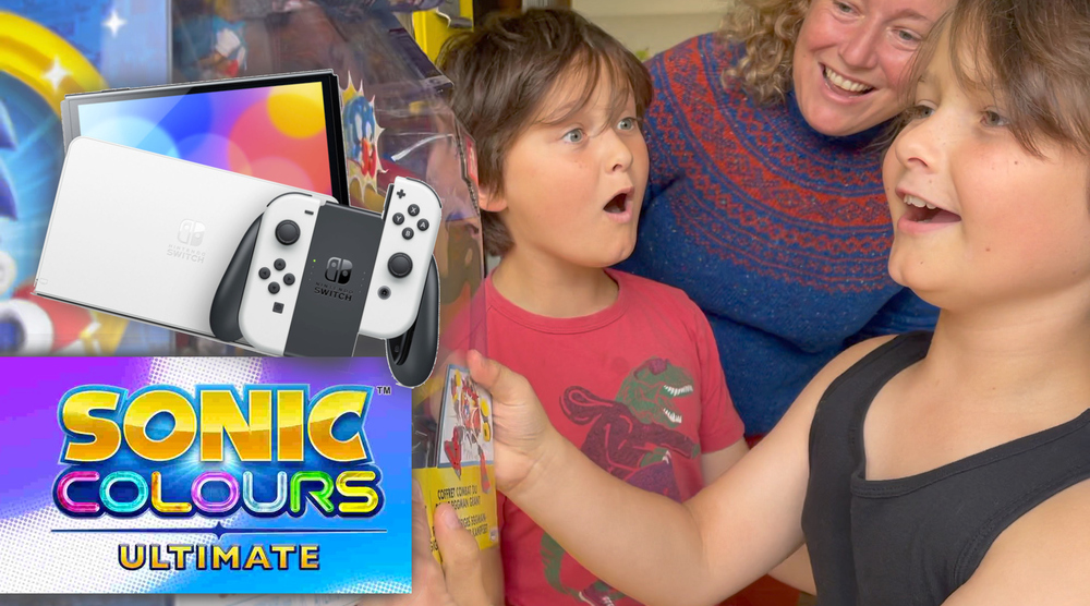 Game image Competition Win Nintendo Switch OLED and Sonic Colours