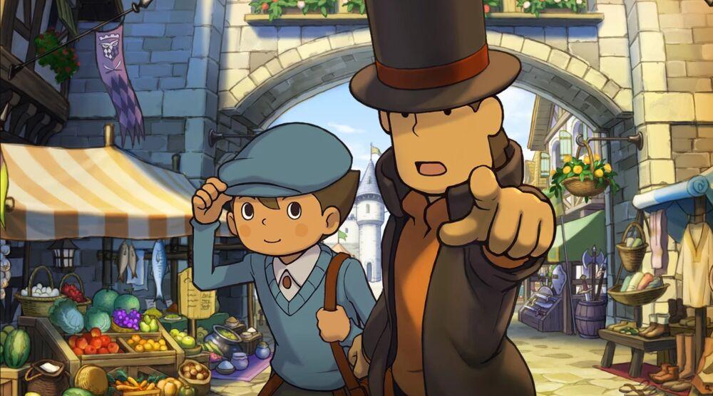 Game image Professor Layton