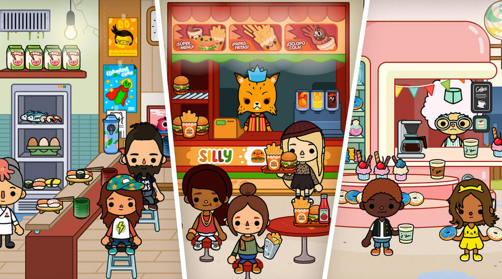 Game image Toca Life World