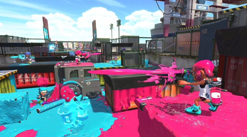 Game image Splatoon