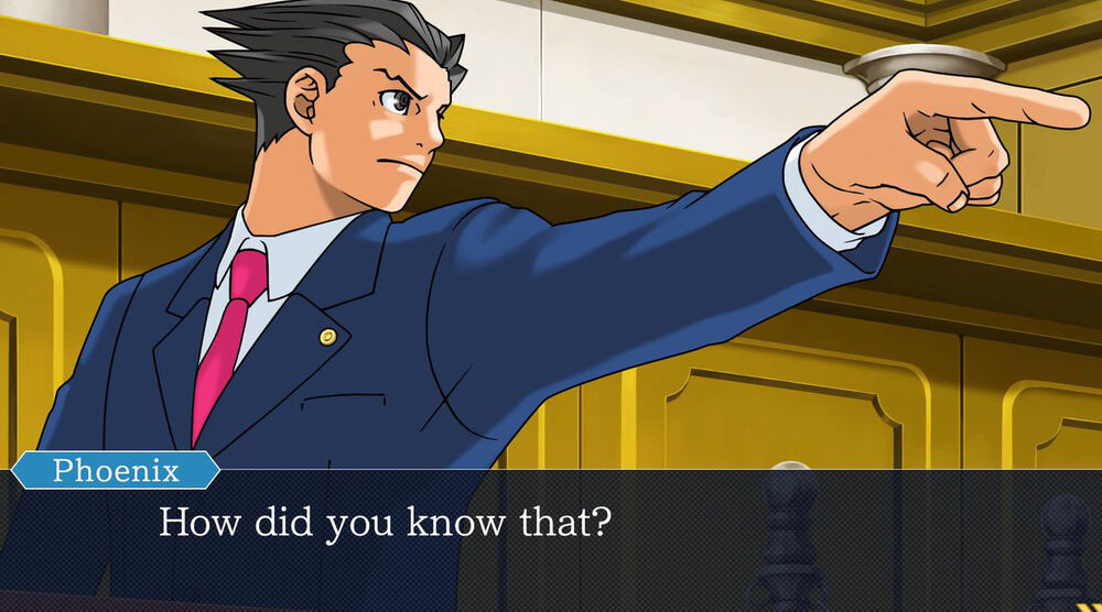 Game image Phoenix Wright Ace Attorney