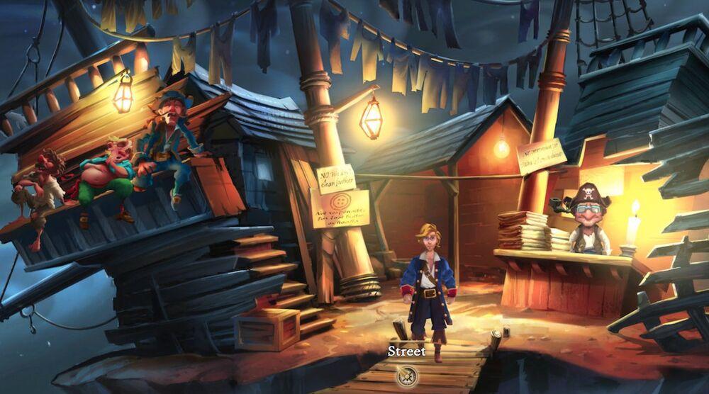 Game image The Secret of Monkey Island
