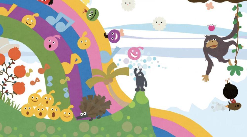 Game image LocoRoco