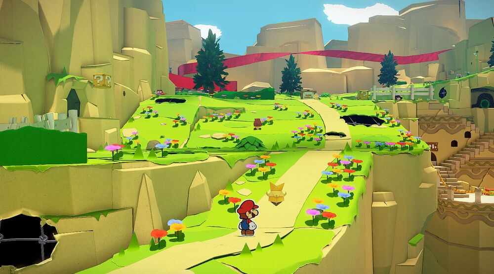 Game image Paper Mario