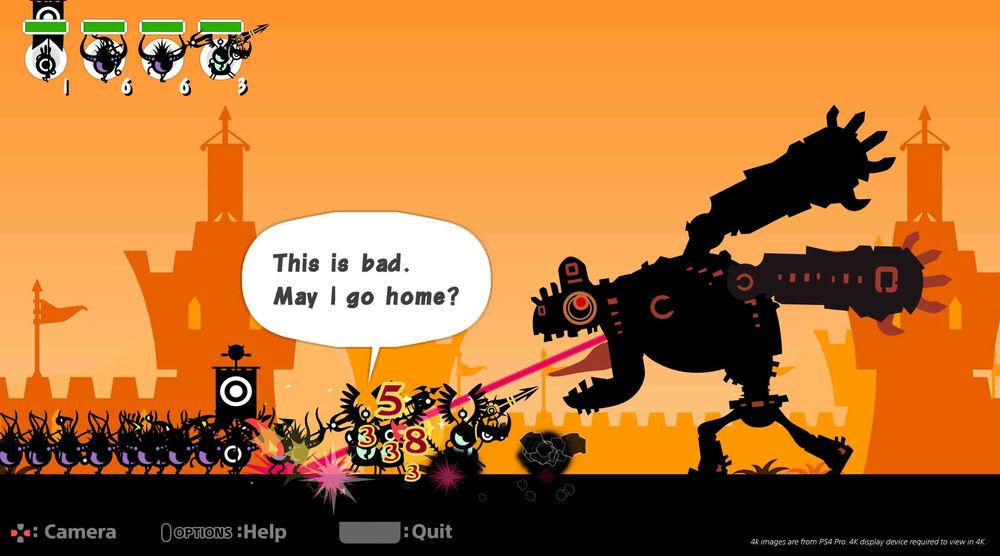 Game image Patapon