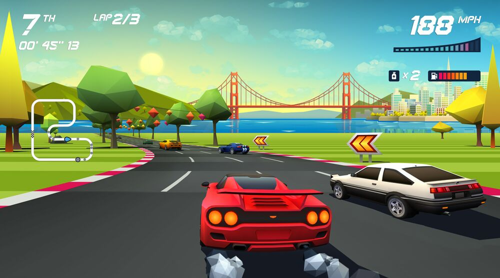 Game image Horizon Chase Turbo