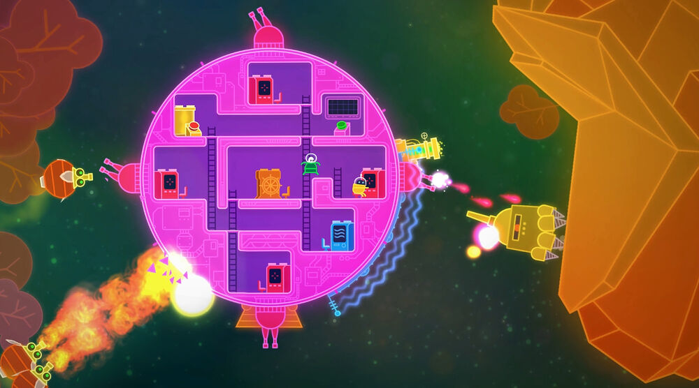 Game image Lovers In A Dangerous Spacetime