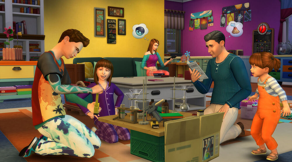 Game image The Sims 4