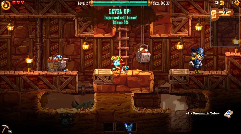 Game image Steamworld Dig