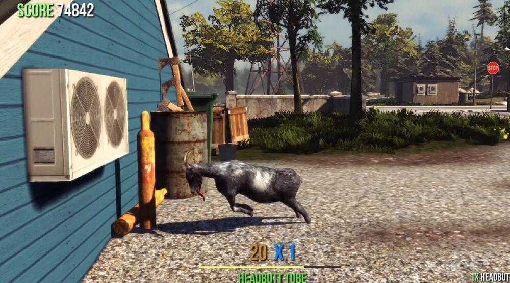 Game image Goat Simulator