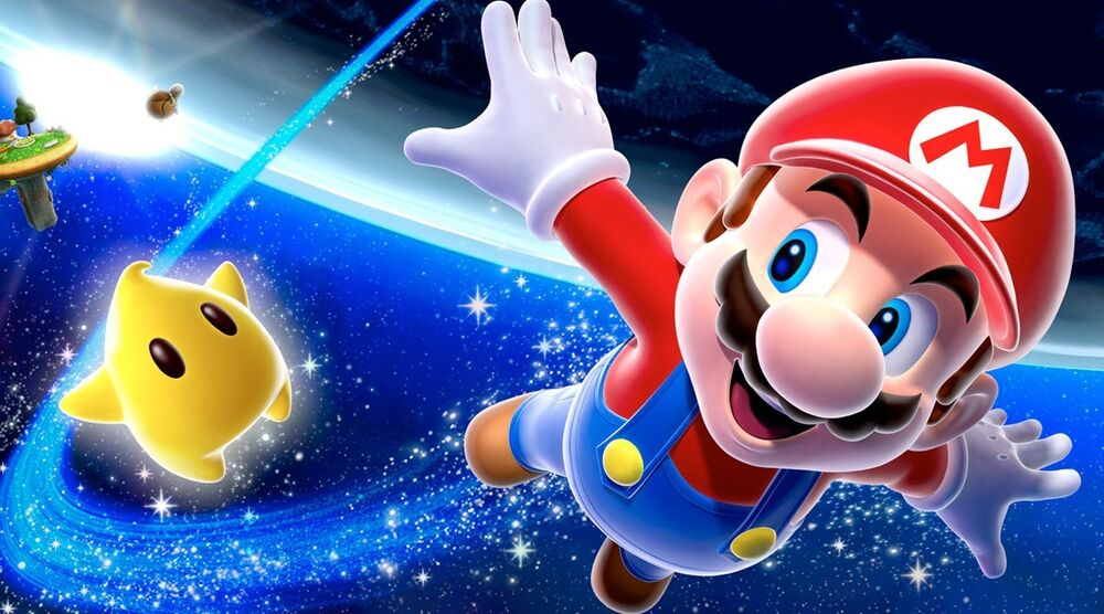 Game image Super Mario Galaxy