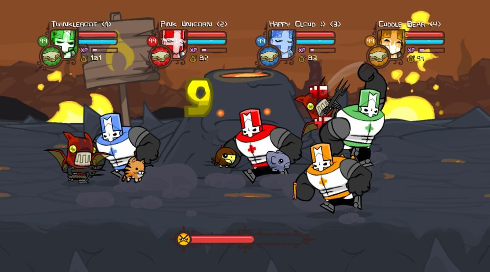 Game image Castle Crashers