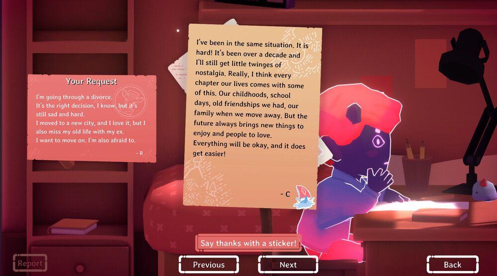 Game image Kind Words