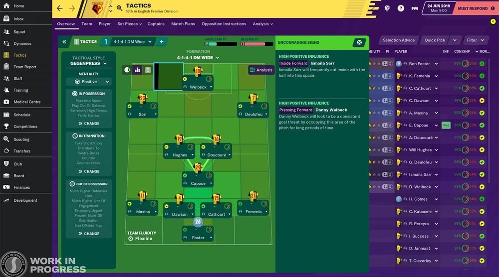 Game image Football Manager 2020