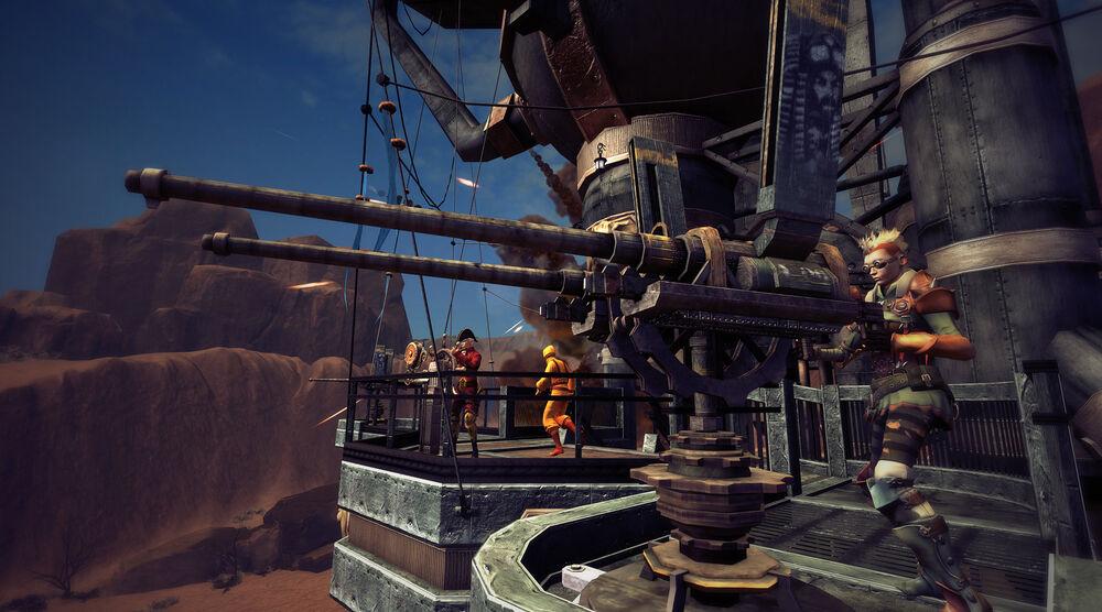 Game image Guns of Icarus
