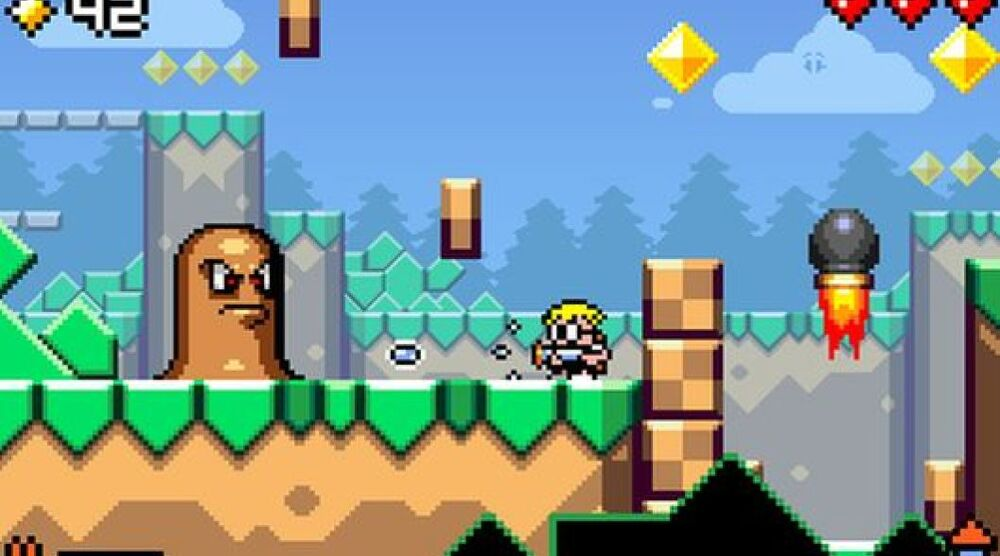 Game image Mutant Mudds