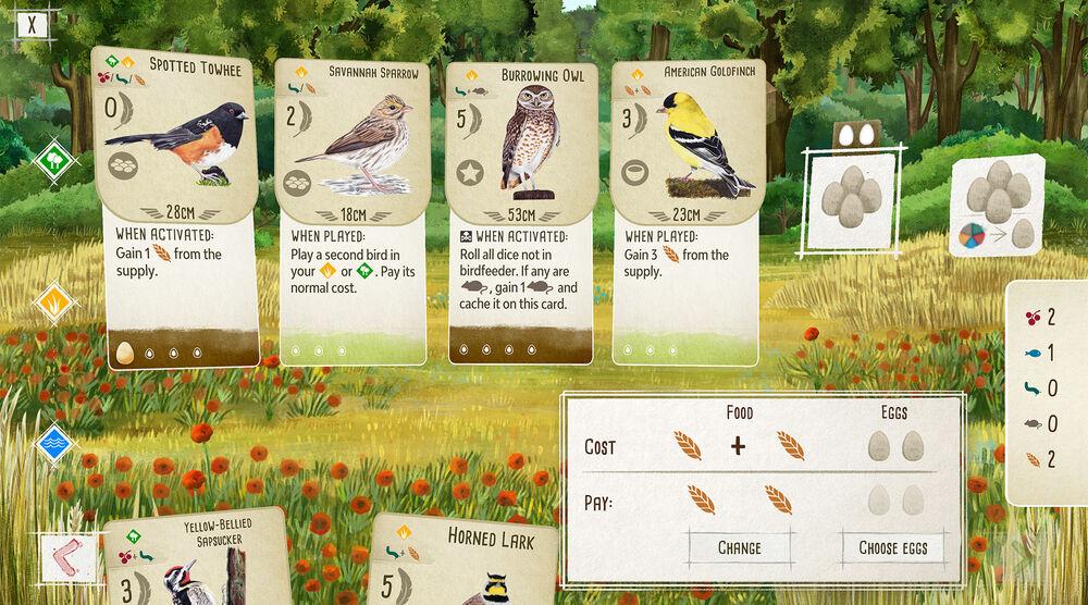Game image Wingspan
