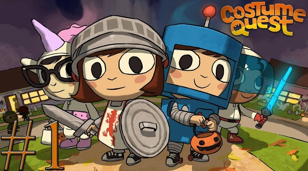 Game image Costume Quest