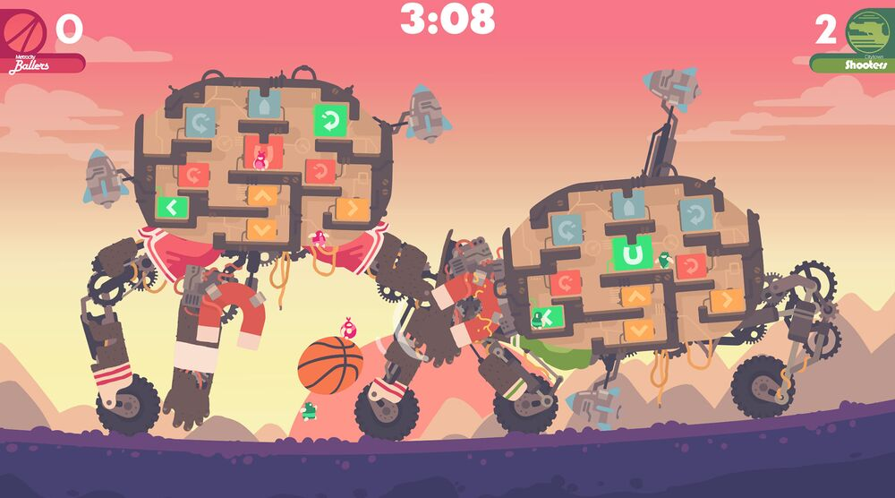 Game image Regular Human Basketball