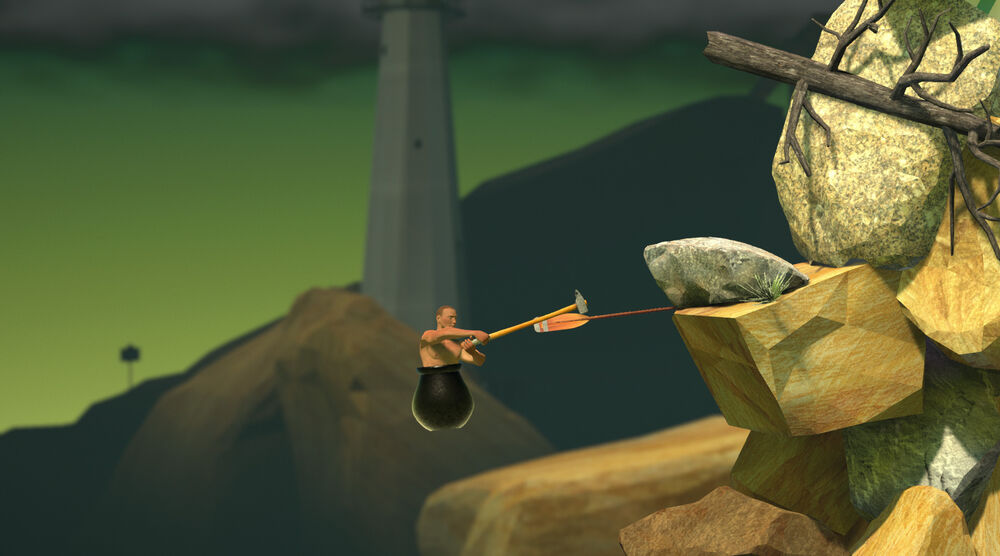Game image Getting Over It with Bennett Foddy