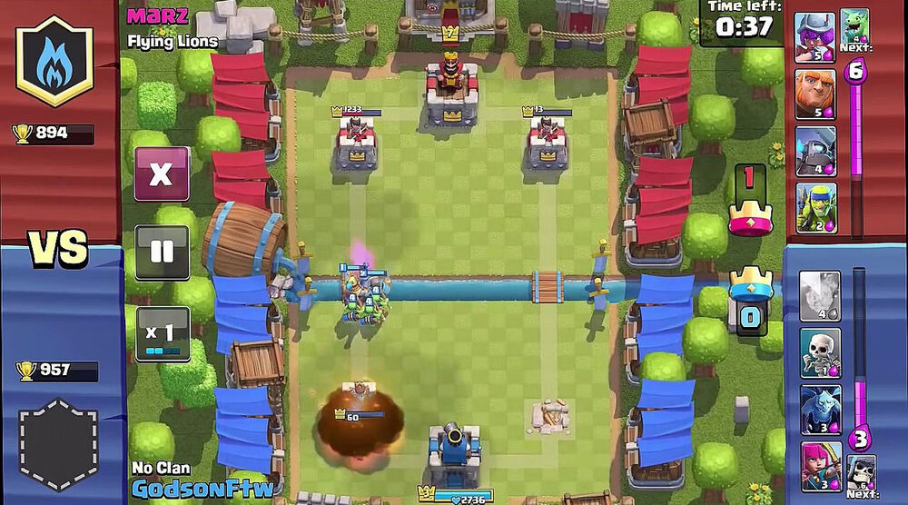 Game image Clash Royale