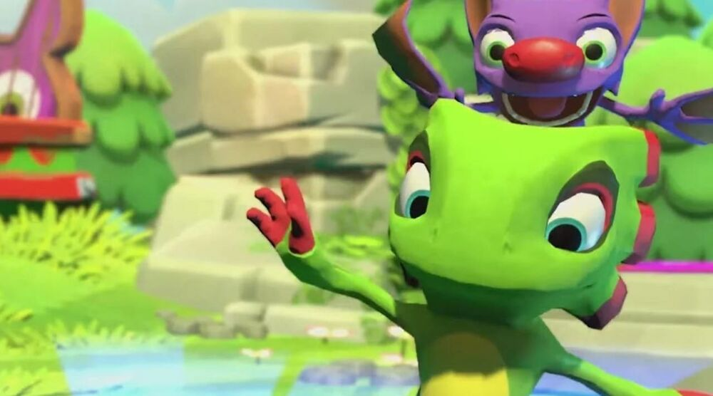 Game image YookaLaylee and the Impossible Lair