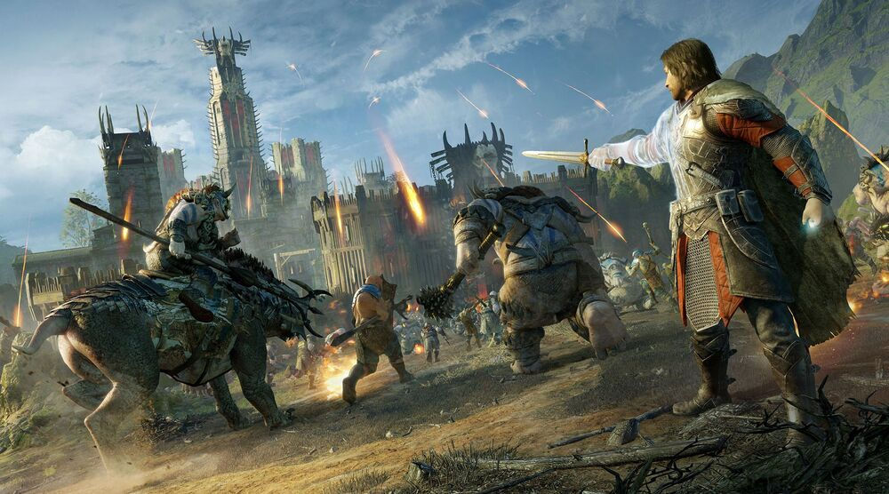 Game image MiddleEarth Shadow of Mordor