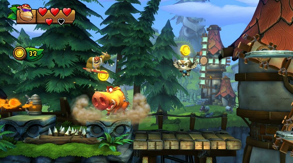 Game image Donkey Kong Country Tropical Freeze