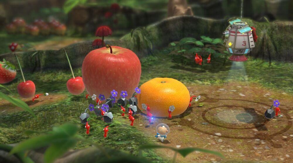 Game image Pikmin 3