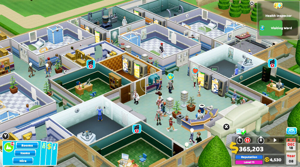 Game image Two Point Hospital