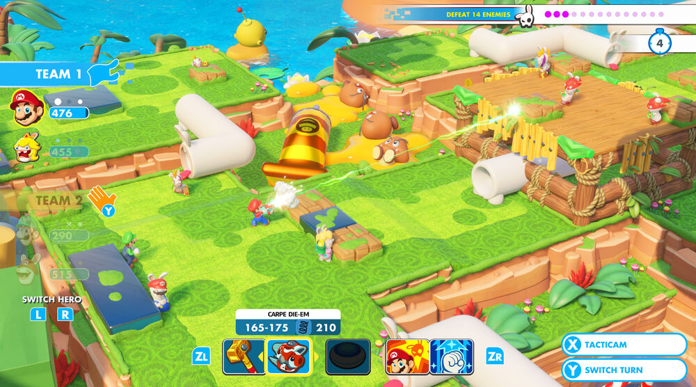 Game image Mario Rabbids Kingdom Battle