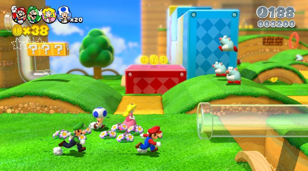 Game image Super Mario 3D World