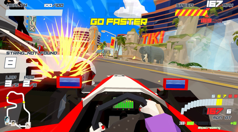 Game image Hotshot Racing