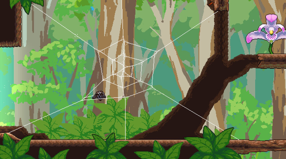 Game image Webbed