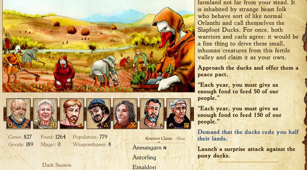 Game image King of Dragon Pass