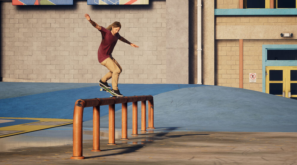 Game image Tony Hawk 1 and 2