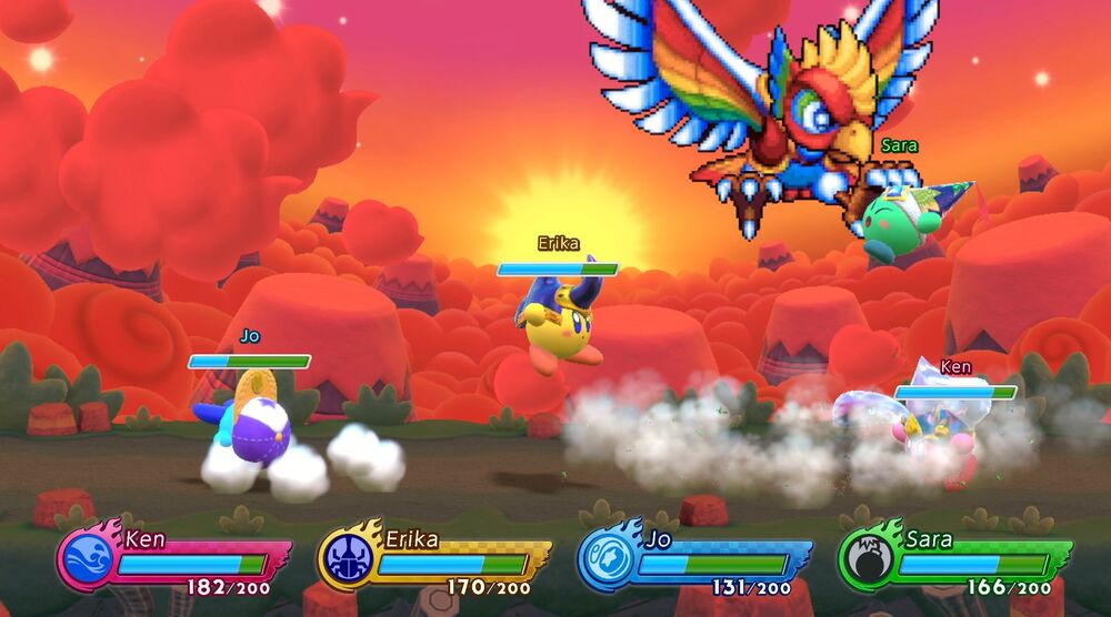 Game image Kirby Fighters