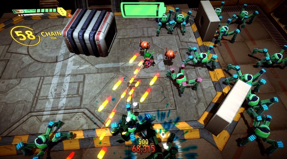 Game image Assault Android Cactus