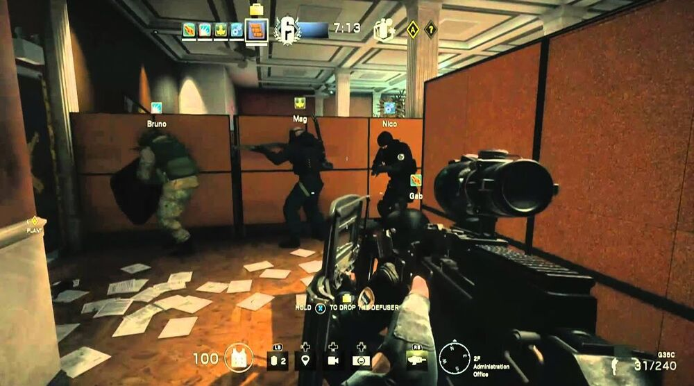 Game image Tom Clancys Rainbow Six Seige