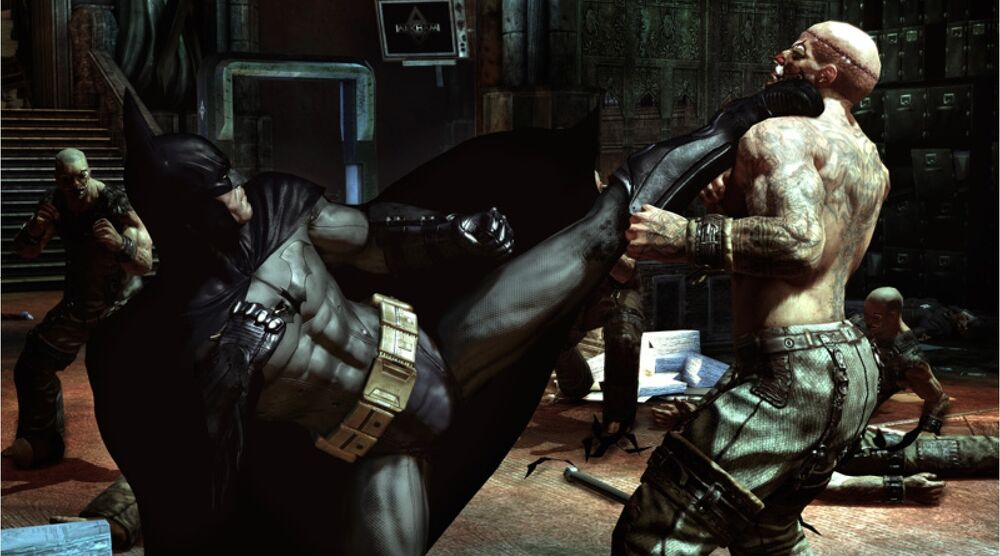 Game image Batman Arkham Asylum