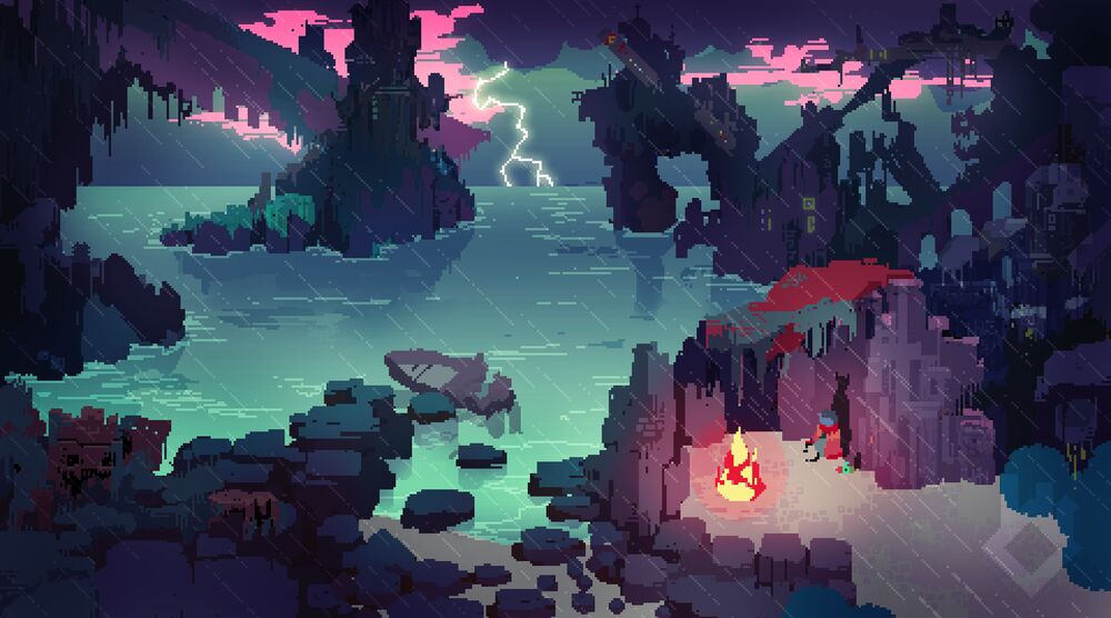 Game image Hyper Light Drifter
