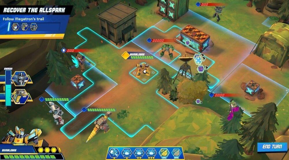 Game image Transformers Battlegrounds