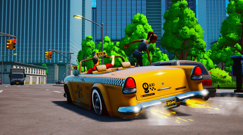 Game image Taxi Chaos