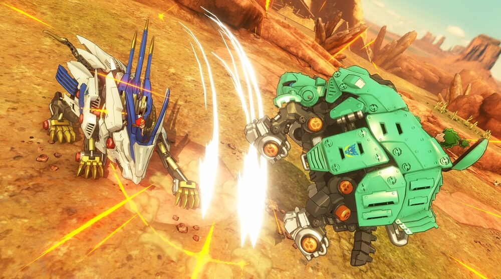 Game image Zoids Wild Blast Unleashed