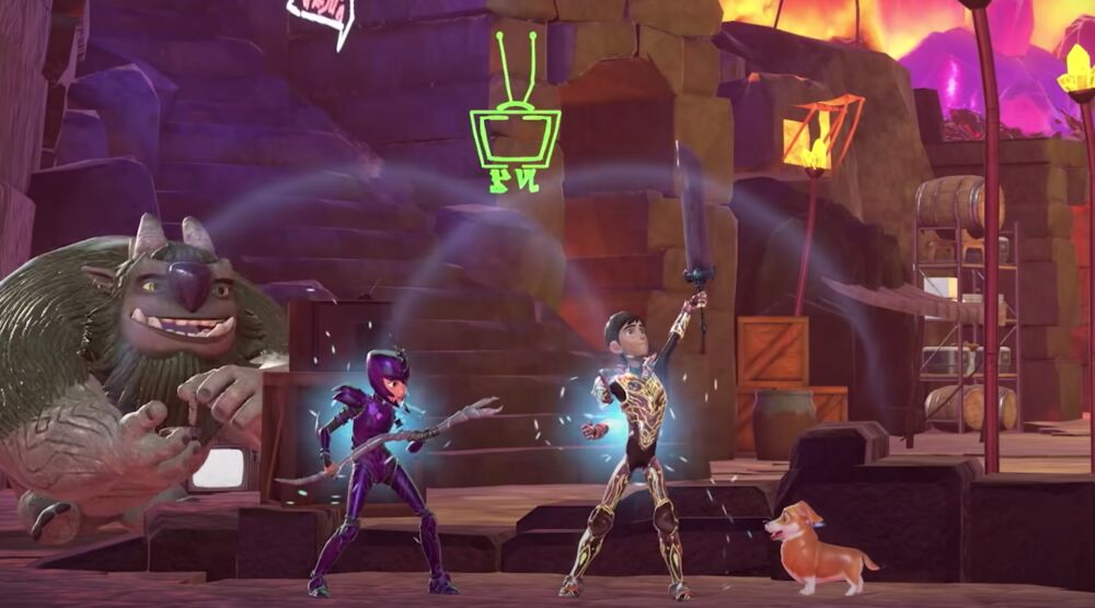 Game image Trollhunters Defenders of Arcadia