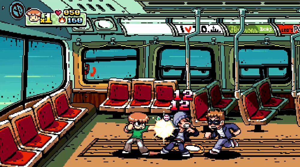 Game image Scott Pilgrim vs The World The Game